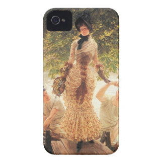 On the Thames by James Tissot Blackberry Bold Cover