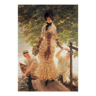 On the Thames by James Tissot Print