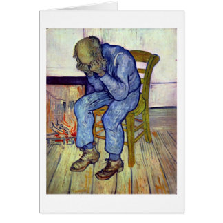 On The Threshold Of Eternity By Vincent Van Gogh Cards
