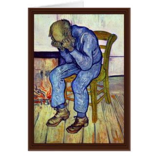 On The Threshold Of Eternity,  By Vincent Van Gogh Card