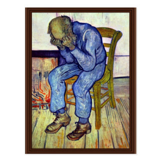 On The Threshold Of Eternity,  By Vincent Van Gogh Postcard