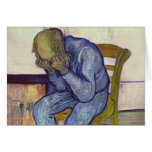 On the Threshold of Eternity - Vincent Van Gogh Greeting Cards