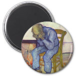 On the Threshold of Eternity - Vincent Van Gogh Refrigerator Magnets