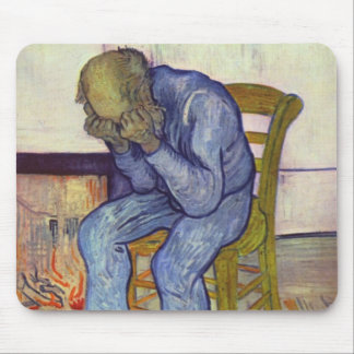 On the Threshold of Eternity - Vincent Van Gogh Mouse Pad