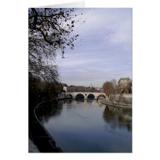 On the Tiber Greeting Card