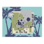 On the Top Rock Climbing Tshirts and Gifts Postcard