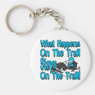 On The Trail Keychain