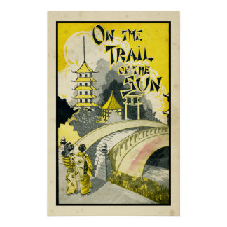 On The Trail of the Sun Poster