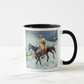 On The Trail (oil on canvas) Mug