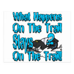 On The Trail Postcard