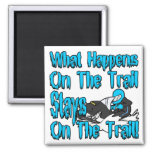 On The Trail Refrigerator Magnet