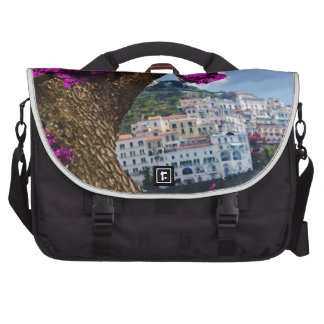 On the trips you see the wonder of different world laptop bag