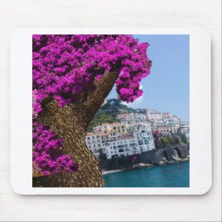 On the trips you see the wonder of different world mouse pad