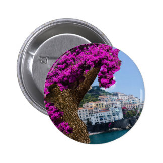 On the trips you see the wonder of different world pinback button