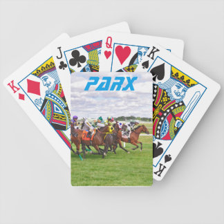 On the Turf Bicycle Playing Cards