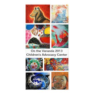 On the Veranda 2013 Card