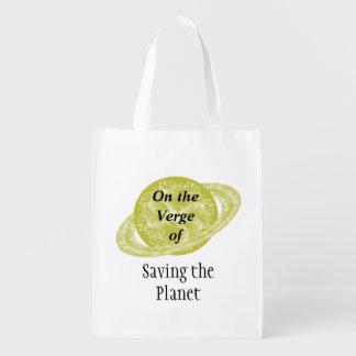 On the Verge Reusable Grocery Bag