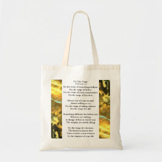On The Verge Shopping Bag