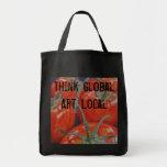 """On the Vine"" Reusable Grocery Tote Bag"