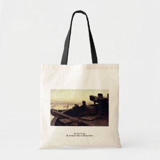 On The Volga By Archipow Abram Jefimowitsch Bags