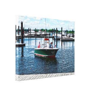 On The Water In Bristol Rhode Island Canvas Print
