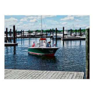On The Water In Bristol Rhode Island Poster
