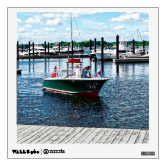 On The Water In Bristol Rhode Island Wall Decal
