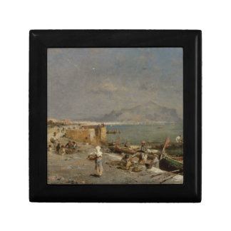 On The Waterfront at Palermo by Franz Richard Gift Box