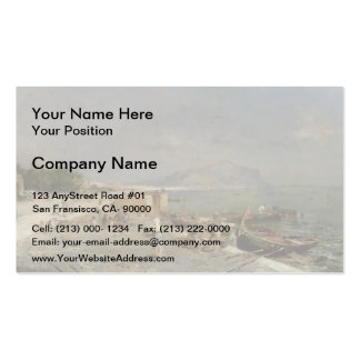 On The Waterfront at Palermo by Franz Unterberger Double-Sided Standard Business Cards (Pack Of 100)