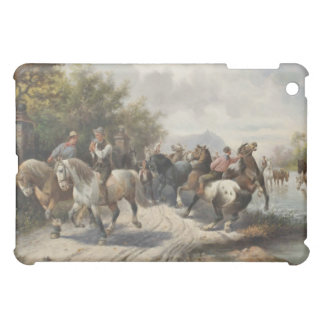 On the Way to the Horse Fair iPad Mini Case