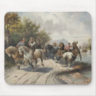 On the Way to the Horse Fair Mouse Pad