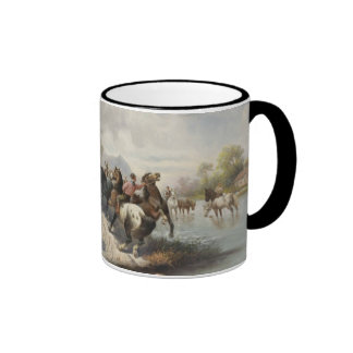 On the Way to the Horse Fair Coffee Mugs