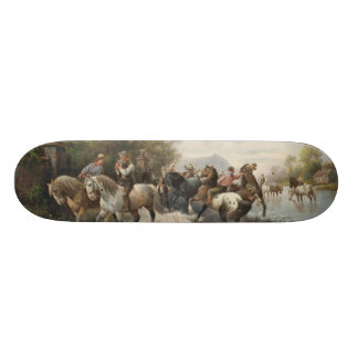 On the Way to the Horse Fair Skateboard