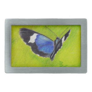 On the Wings aceo Butterfly Belt Buckle