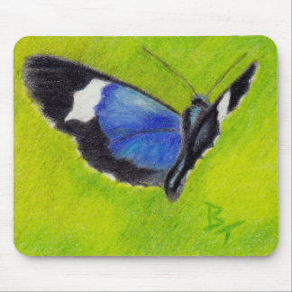 On the Wings aceo Butterfly Mousepad