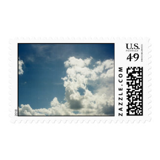On the wings of clouds Postage