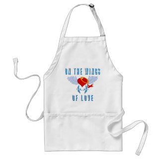 On The Wings Of Love Apron