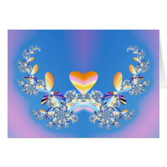 On The Wings Of Love Card