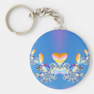 On The Wings Of Love Key Chains