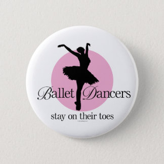 On Their Toes (Ballet) Button