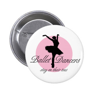 On Their Toes (Ballet) Pinback Button
