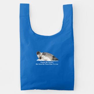 On Thin Ice Reusable Bag