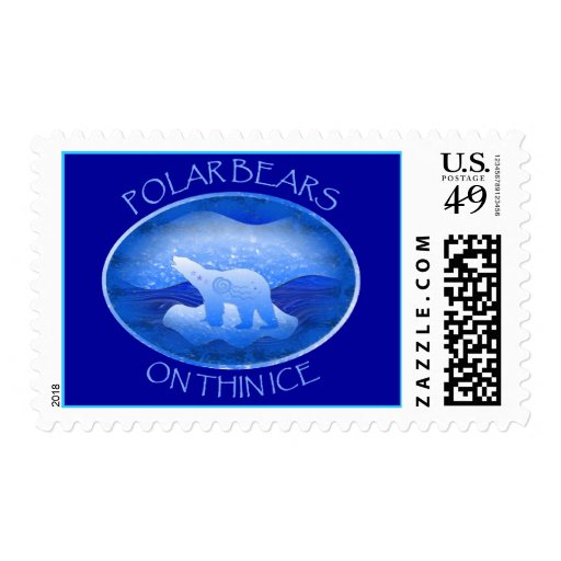 On Thin Ice Stamps