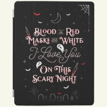 On This Scary Night iPad Cover Case / Black