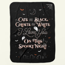 On This Spooky Night Baby Blanket