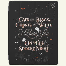 On This Spooky Night iPad Cover Case / Black