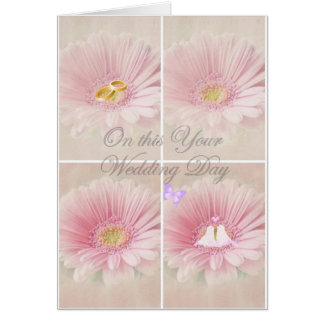 ON THIS YOUR WEDDING DAY GREETING CARD