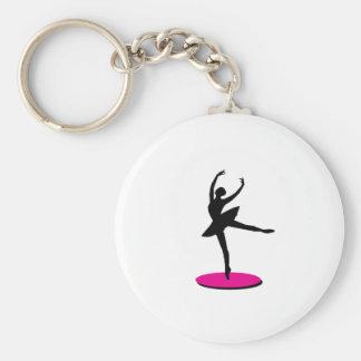 On Toe Ballerina Keychains