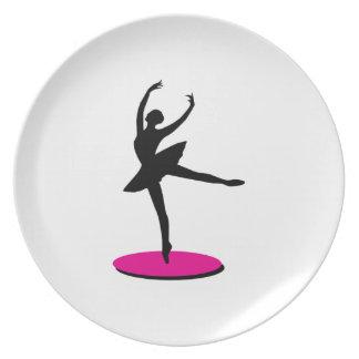 On Toe Ballerina Plate