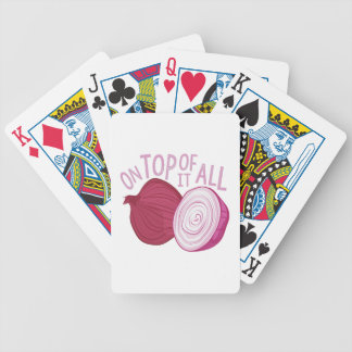 On Top Bicycle Playing Cards